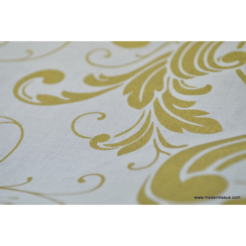 Decoration De Noel En Coton Et Tissu Dore