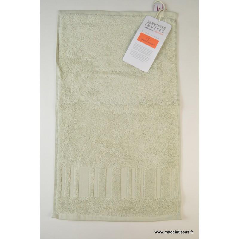 serviette ponge essuie mains argile 30x50 made in tissus. Black Bedroom Furniture Sets. Home Design Ideas