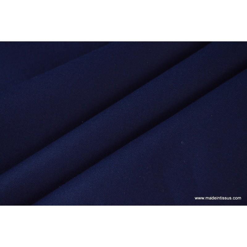 tissu gabardine imperm able polyester coton marine made. Black Bedroom Furniture Sets. Home Design Ideas