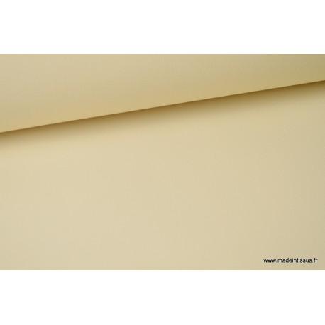 Tissu extérieur polypro ivoire