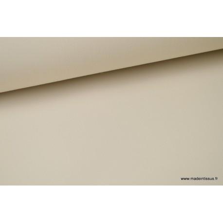 Tissu extérieur polypro beige.