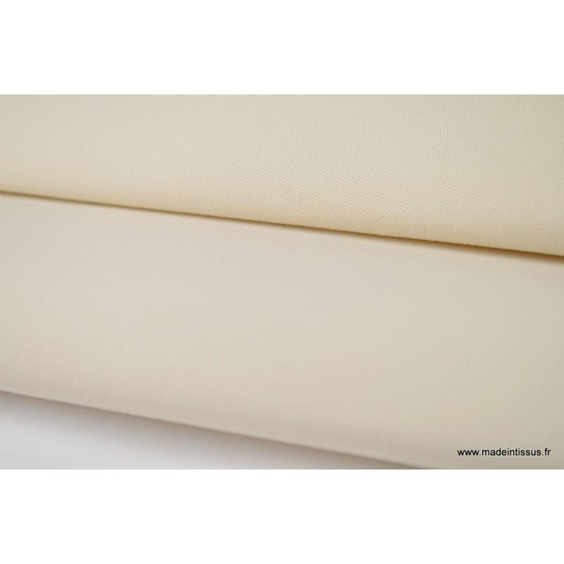 tissu d 39 ext rieur en polypro teint dans la masse beige. Black Bedroom Furniture Sets. Home Design Ideas