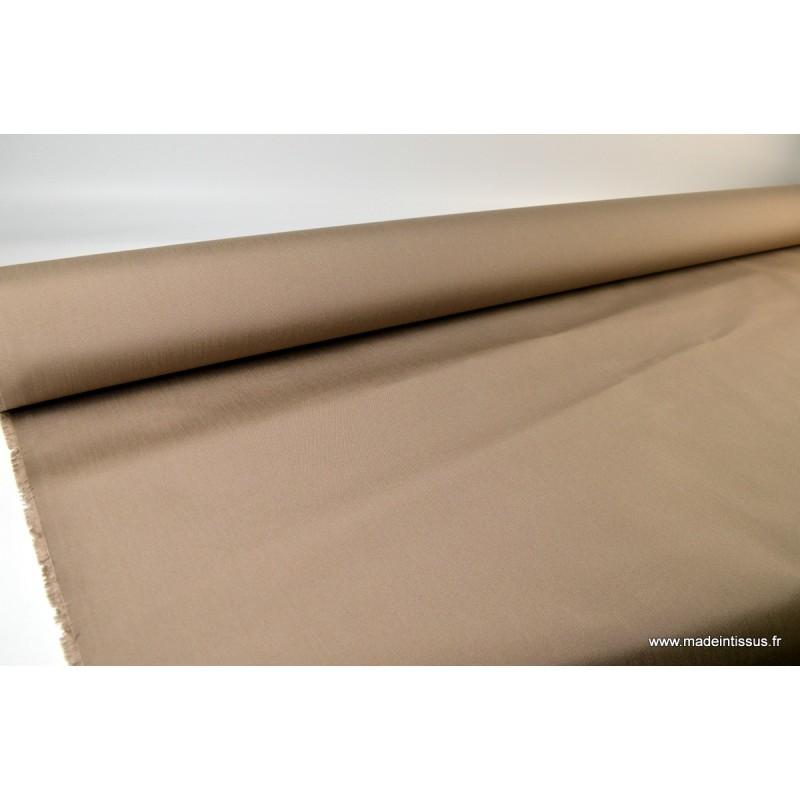 tissu d 39 ext rieur en polypro teint dans la masse taupe pour coussins. Black Bedroom Furniture Sets. Home Design Ideas