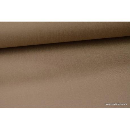 Tissu extérieur polypro taupe.