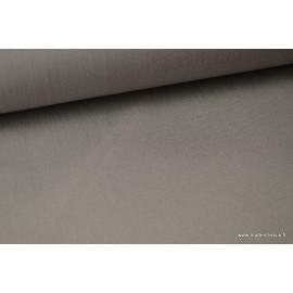 Tissu extérieur polypro gris.