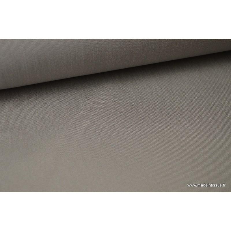 tissu d 39 ext rieur en polypro teint dans la masse gris pour coussins. Black Bedroom Furniture Sets. Home Design Ideas