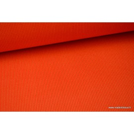 Tissu extérieur polypro fantaisie orange