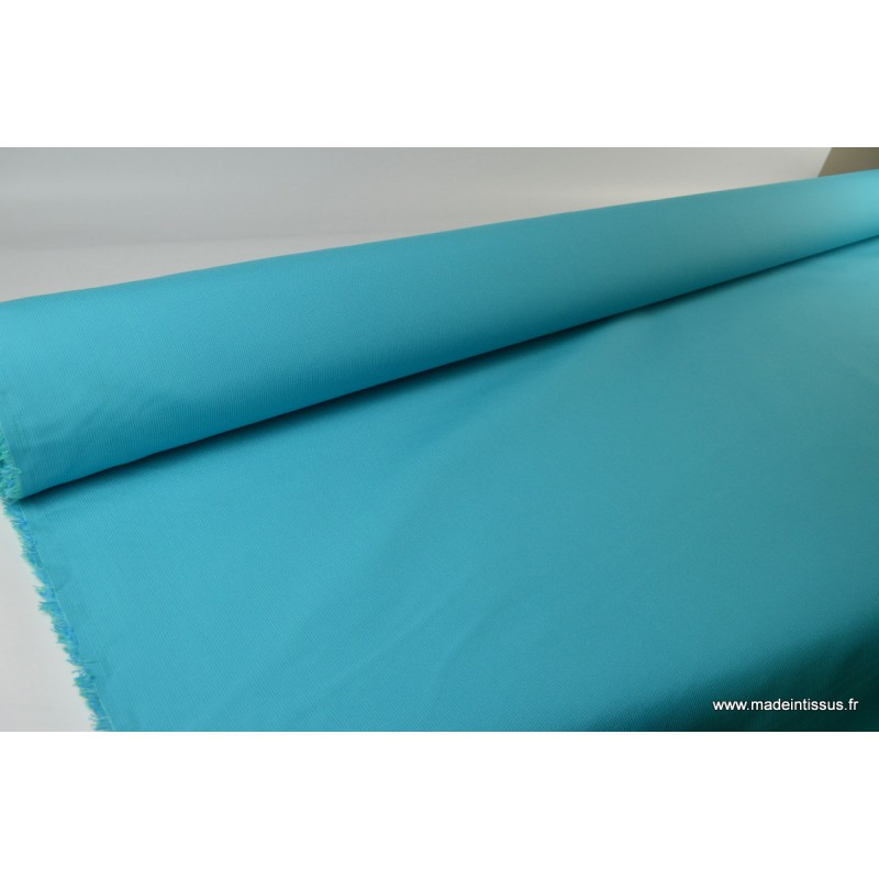 tissu d 39 ext rieur en polypro teint masse turquoise pour coussins. Black Bedroom Furniture Sets. Home Design Ideas