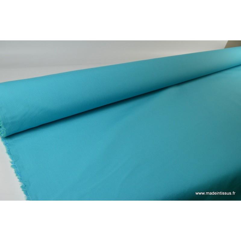 tissu d 39 ext rieur en polypro teint masse turquoise pour