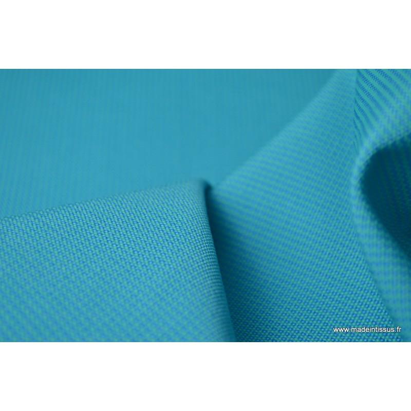 tissu d 39 ext rieur en polypro teint masse turquoise pour coussins. Black Bedroom Furniture Sets. Home Design Ideas