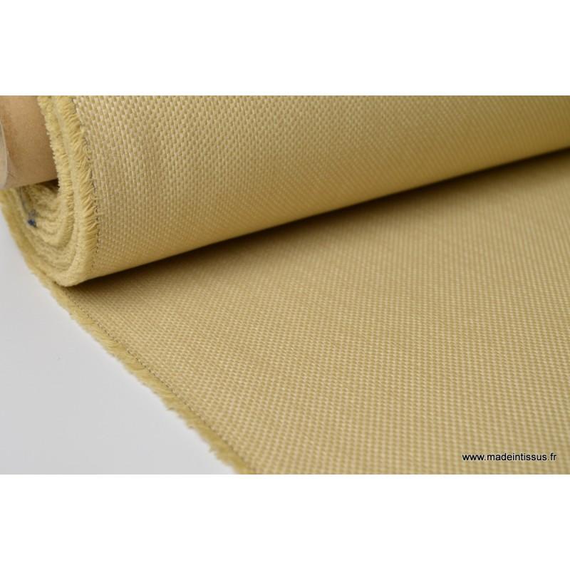 Tissu d 39 ext rieur en polypro teint masse natt blanc pour for Tissu pour coussin exterieur