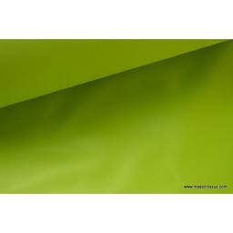 Tissu polyester anis déperlant pour parapluie x50cm