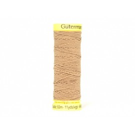 Fil Elastique Gutermann 10 m - N°11028 Marron