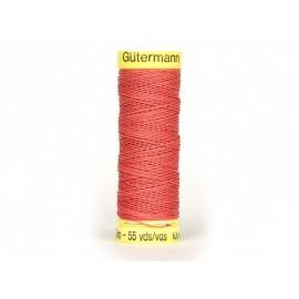 Fil de LIN Gutermann 50 m - N°4012 Rouge