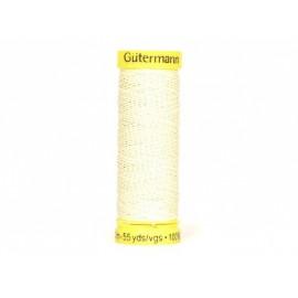 Fil de LIN Gutermann 50 m - N°4011 Crème