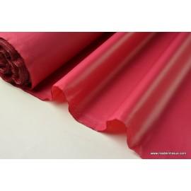 Tissu polyester fraise déperlant pour parapluie .