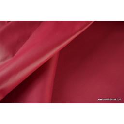 Tissu polyester fraise déperlant pour parapluie x50cm