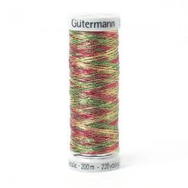 Fil Sulky Effet Metallic Gutermann 200 m - N°7027