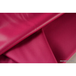 Tissu polyester fuchsia déperlant pour parapluie x50cm