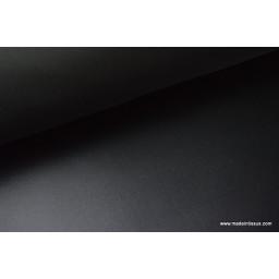 Tissu polyester noir déperlant pour parapluie x50cm