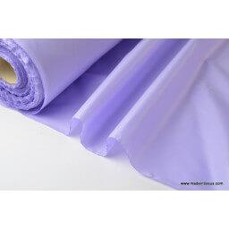 Tissu polyester parme déperlant pour parapluie x50cm