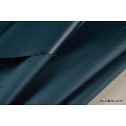 Tissu polyester petrole déperlant pour parapluie x50cm