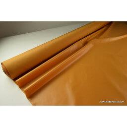 Tissu polyester potiron déperlant pour parapluie x50cm