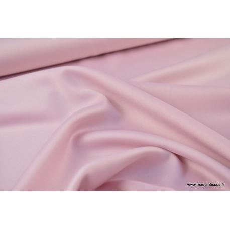 Satin microfibre fluide rose clair