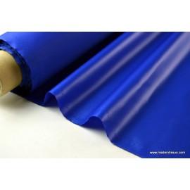 Tissu polyester royal déperlant pour parapluie x50cm