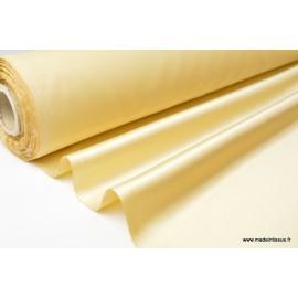 Tissu Satin duchesse polyester doré