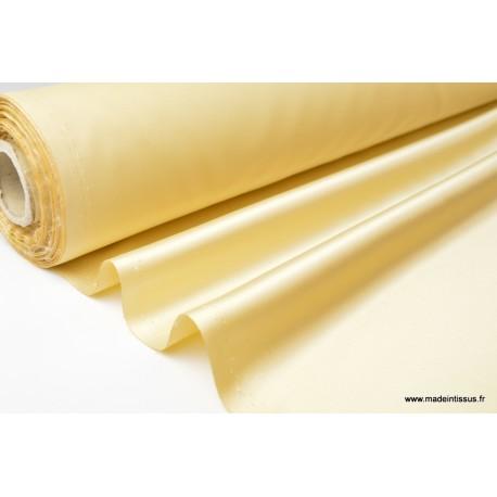 Satin duchesse polyester doré