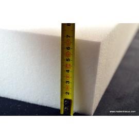Plaque de mousse 50x200 24kg/m3 épaisseur 7cm