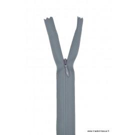 Fermeture éclair invisible en nylon Z41 col 440 Gris Foncé