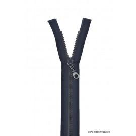 Fermeture éclair Séparable grosse maille 6mm Z54 col 590 Bleu marine