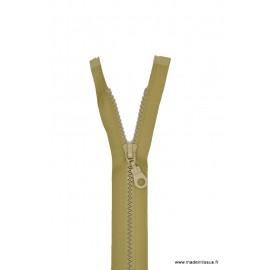 Fermeture éclair Séparable grosse maille 6mm Z54 col 945 beige moyen