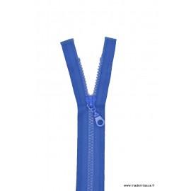 Fermeture éclair Séparable grosse maille 6mm Z54 col 540 Bleu drapeau