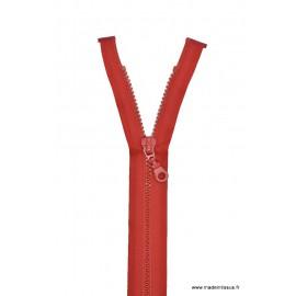 Fermeture éclair Séparable grosse maille 6mm Z54 col 850 Rouge sang