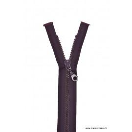 Fermeture éclair Séparable grosse maille 6mm Z54 col 881 Prune