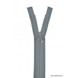 Fermeture éclair Séparable grosse maille 6mm Z54 col 440 gris foncé