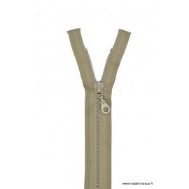 Fermeture éclair Séparable grosse maille 6mm Z54 col 925 Grège