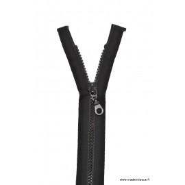 Fermeture éclair Séparable grosse maille 6mm Z54 col 460 noir