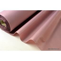 Tissu polyester vieux rose déperlant pour parapluie x50cm
