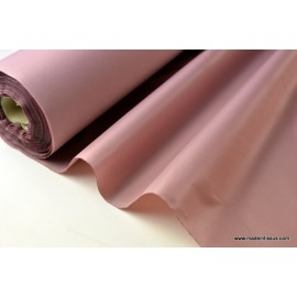 Tissu polyester vieux rose déperlant pour parapluie .