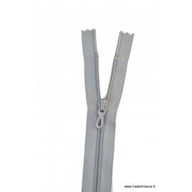 Fermeture éclair en nylon. col 440 Gris foncé
