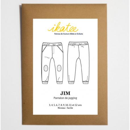 8db0c791abe3 Patron Pantalon de jogging JIM by Ikatee pour garçon ou fille du 3 au 12 ans