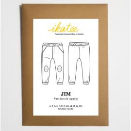 Patron Pantalon de jogging JIM by Ikatee pour garçon ou fille du 3 au 12 ans