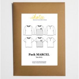 Patron t-shirt MARCEL by Ikatee pour garçon du 3 au 12 ans