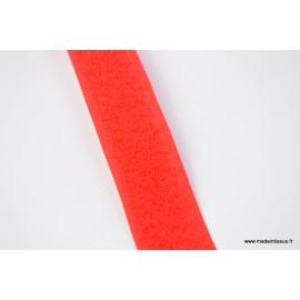 Velcro 20mm male + femelle rouge 1339