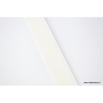 Velcro 20mm male + femelle ecru 0900