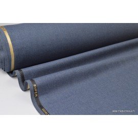 Tissu gabardine costume et confection denim